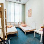 Pokój dwuosobowy w hostelu w centrum Katowic